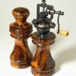 Antique Series Salt Grinder & Peppermill set