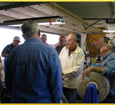 Demonstration & Workshop for a great group of woodturners!