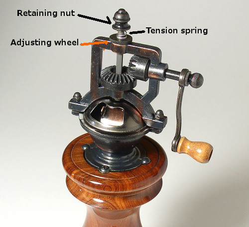 Peppermill illustration