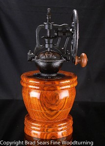 Completed Coffee Grinder